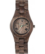 WeWOOD CRISSCHOCROUGH Criss Choco Rough Wood Bracelet Watch