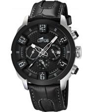 Lotus 15787-6 Mens Black Chronograph Watch