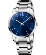 Calvin Klein K2G2114N Mens City Silver Steel Bracelet Watch