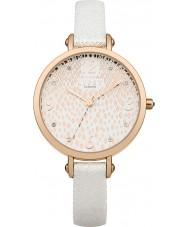 Lipsy LP417 Ladies White PU Strap Watch