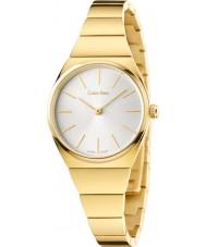 Calvin Klein K6C23546 Ladies Supreme Yellow Gold Plated Watch