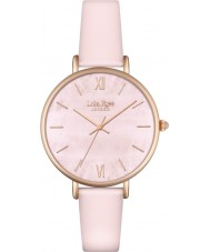 Lola Rose LR2026 Ladies Pink Leather Strap Watch