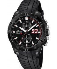Lotus 18104-1 Mens Marc Marquez Chrono GP Special Edition Black Watch