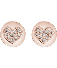 Guess UBE82044 Ladies Heart Devotion Earrings