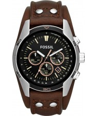 Fossil CH2891 Mens Coachman Brown Leather Chronograph Watch
