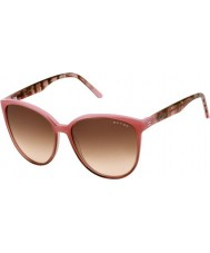 Oxydo Ladies OX 1050-S ASF 51 Pink Brown Sunglasses