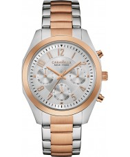 Caravelle New York 45L149 Ladies Melissa Two Tone Chronograph Watch