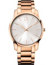 Calvin Klein K2G21646 Mens City Rose Gold Steel Bracelet Watch