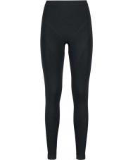 Odlo Ladies Evolution Black Graphite Grey Baselayer Pants
