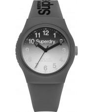 Superdry SYG198EE Ladies Urban Laser Grey Silicone Strap Watch