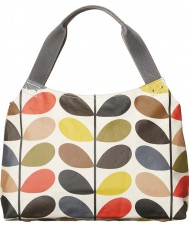 Orla Kiely 0ETCCMS024 Ladies Classic Multi Stem Zip Shoulder Bag