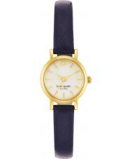 Kate Spade New York 1YRU0456 Ladies Tiny Metro Navy Leather Strap Watch
