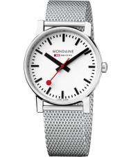 Mondaine A658-30300-11SBV Evo Silver Steel Mesh Bracelet Watch
