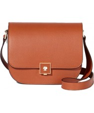 Modalu MH5070-BROWN Ladies Warwick Dark Tan Satchel