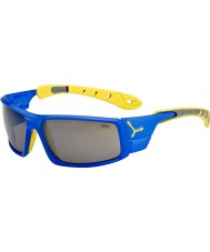 Cebe Ice 8000 Electric Blue Yellow Sunglasses