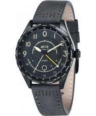 AVI-8 AV-4035-05 Mens Lancaster Bomber Dark Green Leather Strap Watch