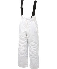 Dare2b DKW033-900C05 Kids Turnabout White Snow Pants - 5-6 years