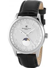 Edward East EDW1898G14 Mens Black Leather Strap Watch