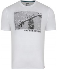 Dare2b Mens Behind Bars White T-Shirt