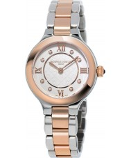 Frederique Constant FC-200WHD1ER32B Ladies Classics Delight Two Tone Steel Bracelet Watch