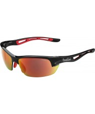 Bolle Bolt S Matt Black TNS Fire Sunglasses