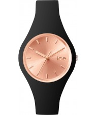 Ice-Watch 001400 Ladies Ice-Chic Black Silicone Strap Small Watch