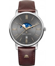 Maurice Lacroix EL1108-SS001-311-1 Mens Eliros Brown Leather Strap Watch