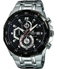 Casio EFR-539D-1AVUEF Mens Edifice Black Silver Chronograph Watch