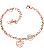 Guess UBB82059-L Ladies Heart Devotion Bracelet