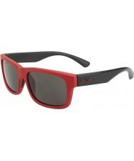 Bolle Daemon Jr. Matte Red Black TNS Sunglasses