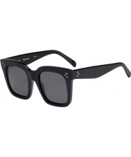 Celine Ladies CL 41076-S 807 BN Black Sunglasses