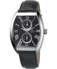 Thomas Earnshaw ES-8004-01 Mens Holborn Multifunctional Black Leather Strap Watch