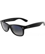 RayBan RB2132 52 New Wayfarer Matte Black 601S78 Polarized Sunglasses