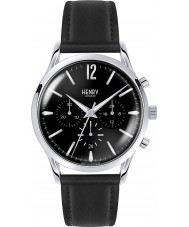 Henry London HL41-CS-0023 Mens Edgware Black Leather Chronograph Watch