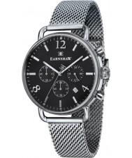 Thomas Earnshaw ES-8001-11 Mens Investigator Silver Steel Mesh Chronograph Watch