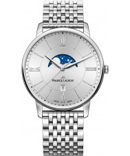 Maurice Lacroix EL1108-SS002-110-1 Mens Eliros Silver Steel Bracelet Watch
