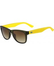 Lacoste L734S Green Yellow Sunglasses
