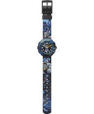 Flik Flak FLSP003 Boys Batman In The Darkness Multicolour Watch