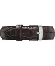 Daniel Wellington DW00200089 Dapper 19mm York Silver Spare Strap