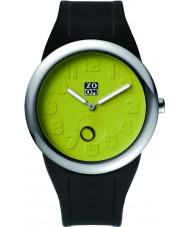 Zoom ZM-3755M-9511 Mens Sunday Green Black Watch