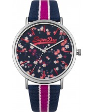 Superdry SYL183UP Ladies Oxford Ditsy Floral Watch