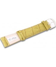 Krug-Baumen TC19719G Crocodile Green Leather Replacement Mens Principle Strap