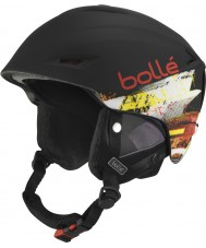 Bolle 30979 Sharp Soft Black and Red Ski Helmet - 61-63cm