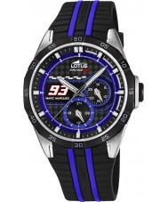 Lotus L18259-2 Mens Marc Marquez Black Rubber Strap Watch