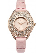 Lipsy LP446 Ladies Pink Leather Strap Watch