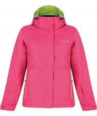 Dare2b DWP323-1Z018L Ladies Energize Electric Pink Ski Jacket -Size 18