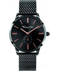 Thomas Sabo WA0277-202-203-33mm Ladies Glam Spirit Black Mesh Bracelet Watch