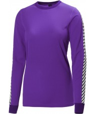 Helly Hansen Ladies Dry Original Purple Baselayer
