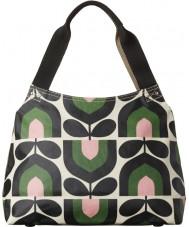 Orla Kiely 17RESTP024-7315 Ladies Classic Stripe Tulip Spring Zip Shoulder Bag