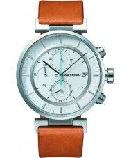 Issey Miyake AY008 Mens W Tan Leather Chronograph Watch
